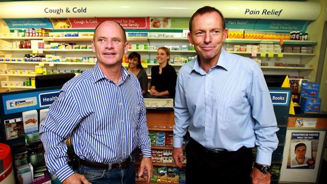 Campbell Newman and Tony Abbott. The Australian faces of Austerity