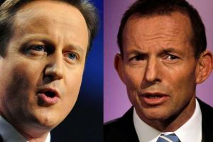 David Cameron and Tony Abbott, Austerity Incorporated.