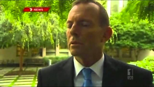 Tony (Facts… What facts) Abbott, explaining himself… NOT