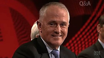 Turdball on QandA, making an arse of himself.